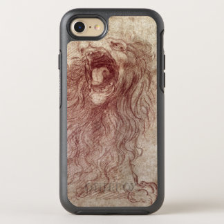 Skizze eines Brüllenlöwes OtterBox Symmetry iPhone 8/7 Hülle