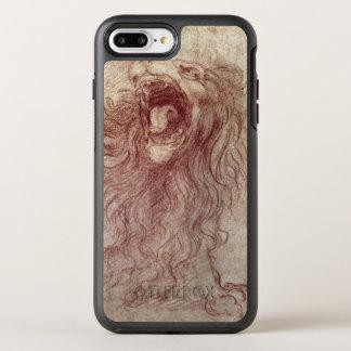Skizze eines Brüllenlöwes OtterBox Symmetry iPhone 8 Plus/7 Plus Hülle