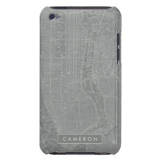 Skizze von New- York Citykarte Case-Mate iPod Touch Case
