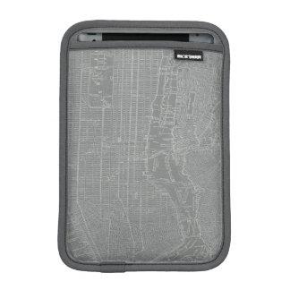 Skizze von New- York Citykarte iPad Mini Sleeve