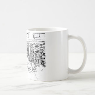 Skizzekunst Tasse