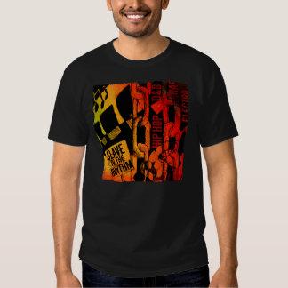 Sklave zum dunklen grundlegenden T - Shirt des Rhy