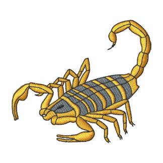 Skorpion Bestickte Fleece Track Jacke