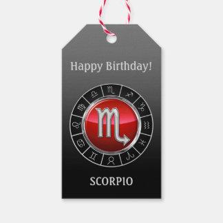 Skorpion - das Skorpions-Tierkreis-Zeichen Geschenkanhänger