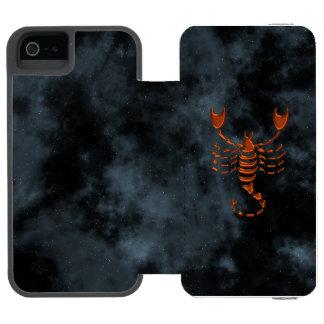 Skorpion Incipio Watson™ iPhone 5 Geldbörsen Hülle