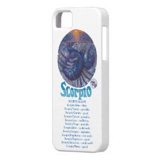 Skorpion - Tierkreis-Telefonkasten iPhone 5 Etuis