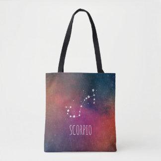 Skorpions-Tierkreis-Galaxie Tasche