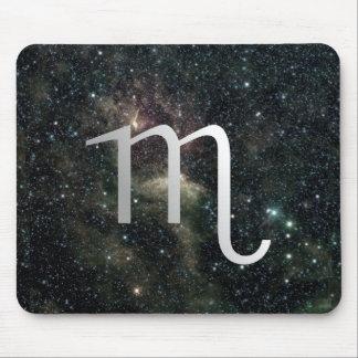 Skorpions-Tierkreis-Stern-Zeichen-Universum Mauspad