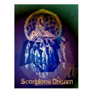 Skorpions-Traumpostkarte Postkarte