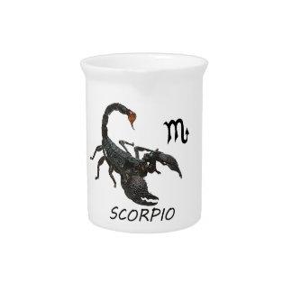 Skorpionsastrologie Getränke Pitcher