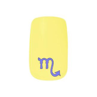 Skorpionssymbol Minx Nagelkunst