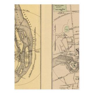 Skowhegan, Fairfield Postkarte