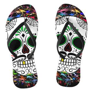 Skull20170396 Flip Flops