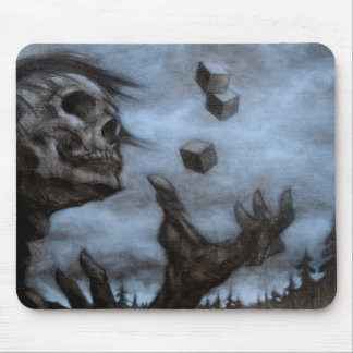 Skull & Dices Mousepad