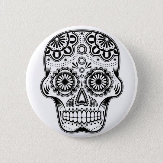 """Skull """"Los Muertos"""" Mexiko Buttons Pin Anstecker"""