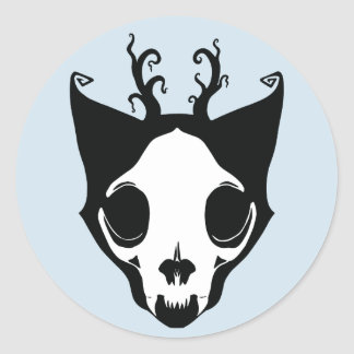 Skullcat Aufkleber