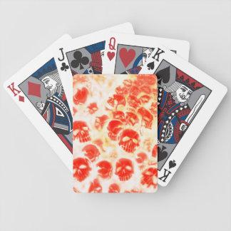 Skulls in hell poker set spielkarten