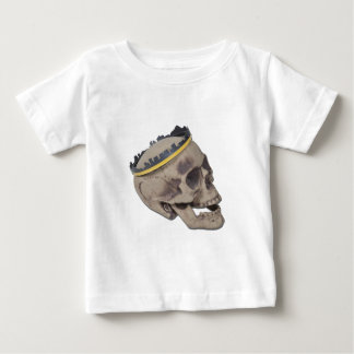 SkullWearingSkylineCrown121611 Baby T-shirt