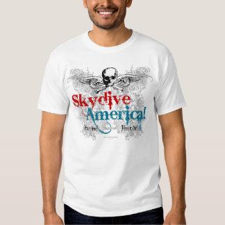 Skydive Amerika! Geben Sie frei, um zu leben! Gebe Shirts