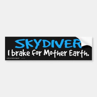 SKYDIVER - i-Bremse für Mutter-Erde Auto Aufkleber