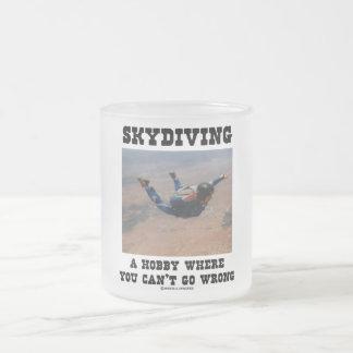 Skydiving ein Hobby, wo Sie nicht falsch gehen Mattglastasse