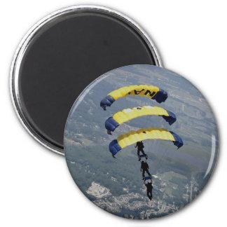 Skydiving Fallschirme Runder Magnet 5,1 Cm