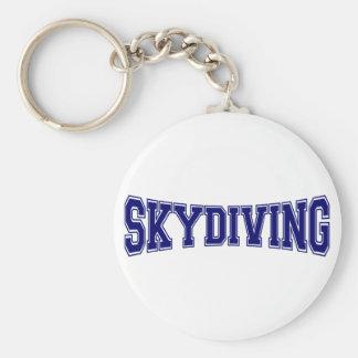 Skydiving Hochschulart Schlüsselanhänger