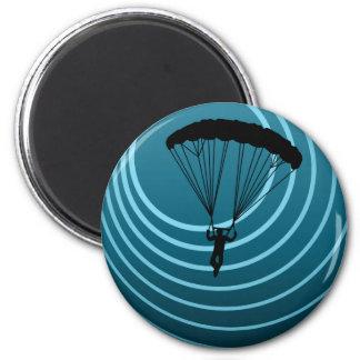 skydiving Mondenschein Magnete