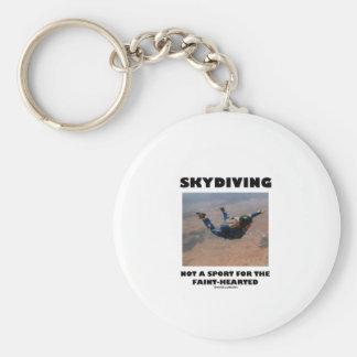 Skydiving nicht ein Sport für das zaghafte Schlüsselanhänger