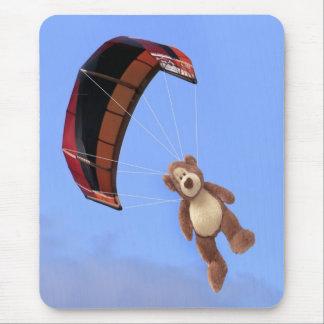 Skydiving Teddybär Mousepad