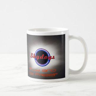 Skydogs-Logo-mit-Solar-Ausführungssteuersprache, Kaffeetasse