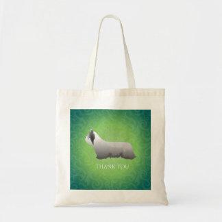 Skye Terrier danken Ihnen zu entwerfen Tragetasche