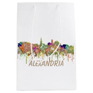 Skyline Alexandrias Virginia SG-Verblaßten Ruhm Mittlere Geschenktüte