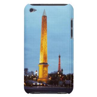 "Skyline an der Dämmerung von ""Place de la iPod Touch Etuis"
