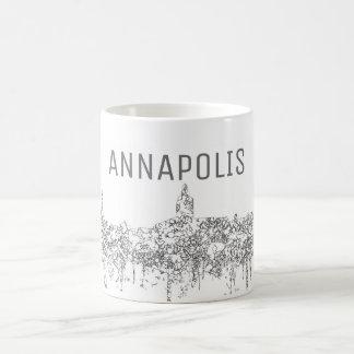 Skyline Annapolis Maryland SG-Verblaßten Ruhm Kaffeetasse