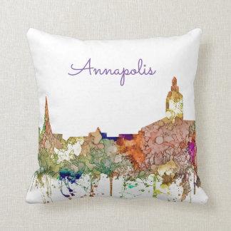 Skyline Annapolis, Virginia SG-Verblaßten Ruhm Kissen