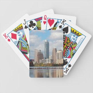 Skyline Austins Texas Bicycle Spielkarten