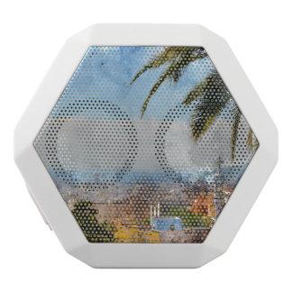Skyline Barcelonas Spanien Weiße Bluetooth Lautsprecher