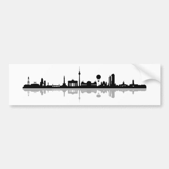 Skyline Berlin Autoaufkleber