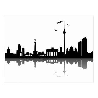 Skyline Berlin Postkarte