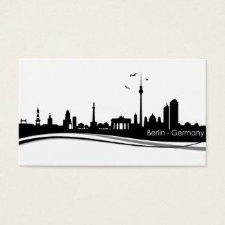 Skyline Berlin Visitenkarte