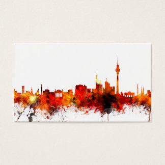 Skyline Berlins Deutschland Visitenkarte