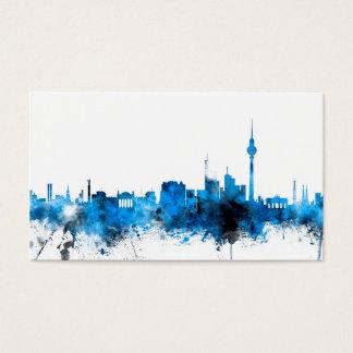 Skyline Berlins Deutschland Visitenkarten