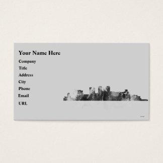 Skyline Birminghams Alabama Visitenkarte