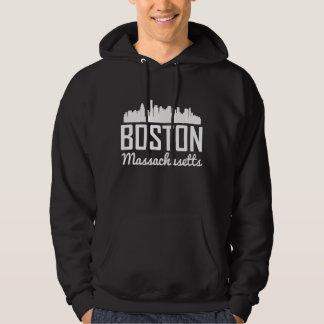 Skyline Bostons Massachusetts Hoodie