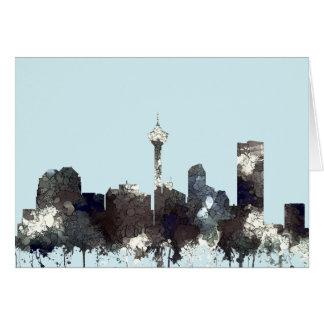 SKYLINE CALGARYS, ALBERTA - CHIPS - Grußkarte