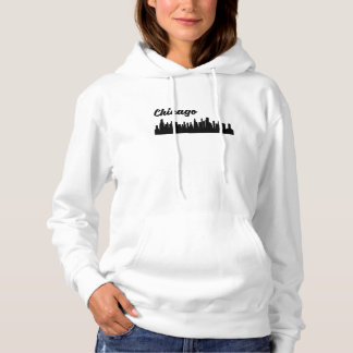 Skyline Chicagos IL Hoodie