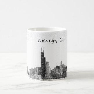 Skyline Chicagos, IL Kaffeetasse