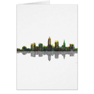 Skyline Clevelands Ohio Karte