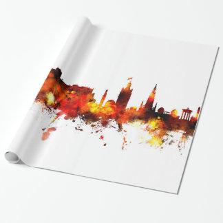 Skyline Edinburghs Schottland Geschenkpapier